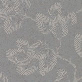 Linwood Zelda Pewter Silver Wallpaper