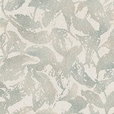 Casamance Profusion Green Green / Cream Wallpaper