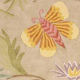 Thibaut Lizette Tea Stain Orange / Beige Wallpaper - Product code: T36101