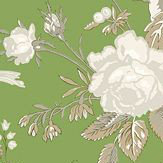 Thibaut Nemour Green Wallpaper - Product code: T36129