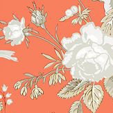 Thibaut Nemour Coral Wallpaper - Product code: T36132