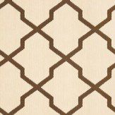 Thibaut Myanmar Trellis Brown Wallpaper - Product code: T36138