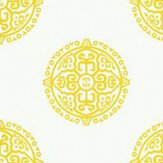 Thibaut Halie Circle Yellow Wallpaper - Product code: T36168