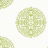 Thibaut Halie Circle Green Wallpaper - Product code: T36171