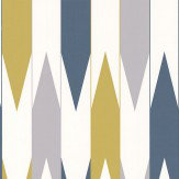 Layla Faye Arrows  Khaki Grey Wallpaper - Product code: LF1027