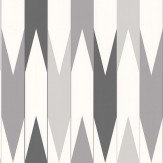 Layla Faye Arrows  Grey Strips Wallpaper
