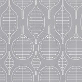 Layla Faye Little Leaves  Light Slate Grey Wallpaper