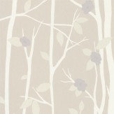 Laura Ashley Cottonwood  Natural Wallpaper