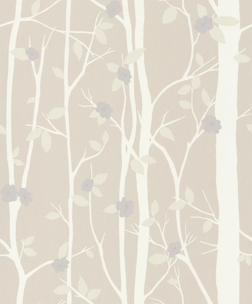 Laura Ashley Cottonwood Natural Wallpaper main image