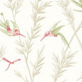 G P & J Baker Waters Edge Willow / Rose Wallpaper - Product code: BW45070/2