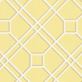 G P & J Baker Langdale Trellis Yellow Wallpaper