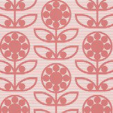 Layla Faye Dotty Flower  Berry Berry Wallpaper - Product code: LF1031