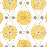 Layla Faye Botanical Bursts  Summer Yellow Wallpaper - Product code: LF1004