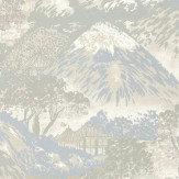 G P & J Baker Edo Ivory / Silver Wallpaper - Product code: BW45073/1
