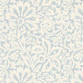G P & J Baker Flora Soft Blue Wallpaper
