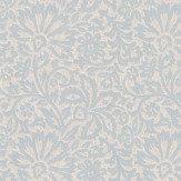 G P & J Baker Flora Silver Wallpaper
