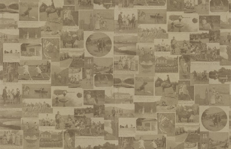Image of Barneby Gates Wallpapers This Other Eden Vintage Gold, BG0100101