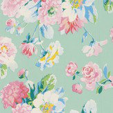 Coordonne La Vie en Rose Mint Wallpaper