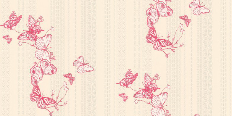Image of Barneby Gates Wallpapers Bugs & Butterflies Raspberry, BG0100301