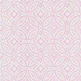 Coordonne Tile Pink Wallpaper