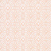 Coordonne Tile Salmon Wallpaper