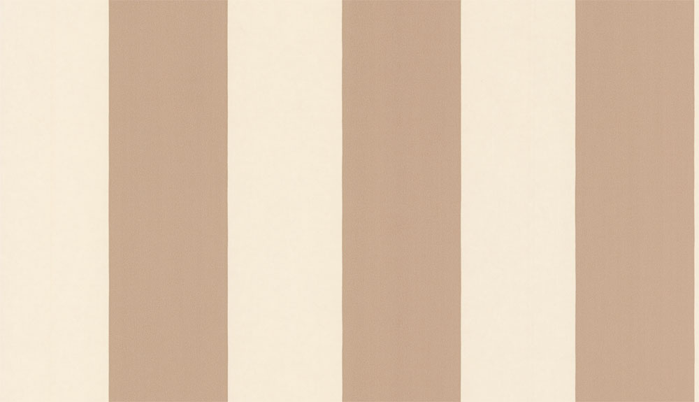 Timney Fowler Thick Stripe Taupe Wallpaper main image