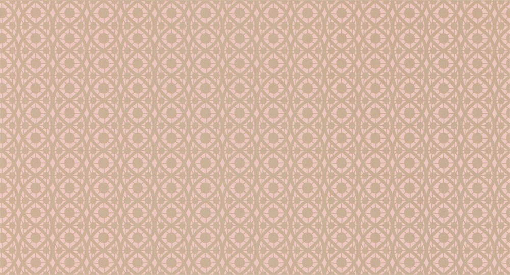 Timney Fowler Lace Pink & Gold Pink / Gold Wallpaper main image