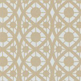Timney Fowler Lace Gold Wallpaper
