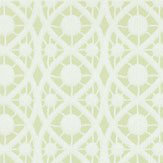 Timney Fowler Lace Green Wallpaper