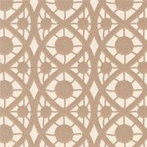 Timney Fowler Lace Taupe Wallpaper