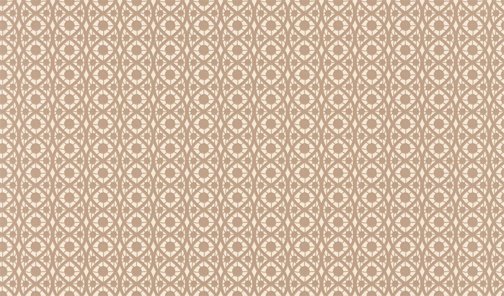 Timney Fowler Lace Taupe Wallpaper main image