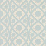 Timney Fowler Lace Duck Egg Wallpaper