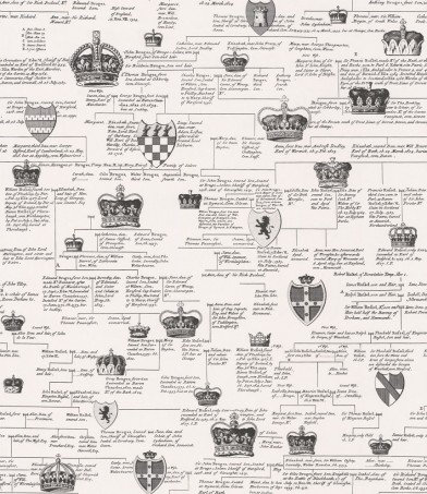 Image of Timney Fowler Wallpapers Ancestral Linage Black & White, TFW201-01