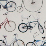 Ella Doran Bikes of Hackney Multi Wallpaper