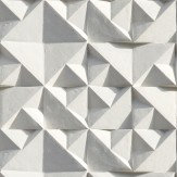 Ella Doran Geo Grey / White Wallpaper