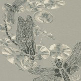 Barneby Gates Dragonfly Pewter Wallpaper - Product code: BG0600201