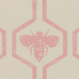 Barneby Gates Honey Bees Rose Wallpaper - Product code: BG0700202