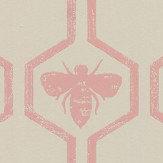 Barneby Gates Honey Bees Rose Wallpaper - Product code: BG0700202
