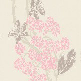 Barneby Gates Autumn-Berry Vintage Pink Pink / Taupe Wallpaper