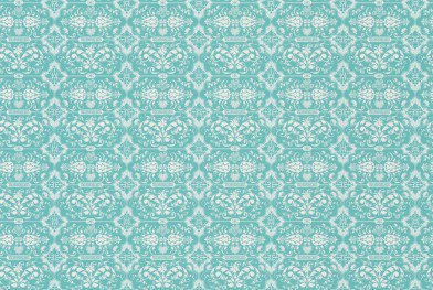 Image of Hattie Lloyd Wallpapers Kensington Chic - Turquoise Jewel , HLKC01
