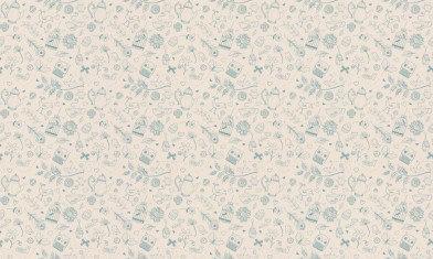 Image of Hattie Lloyd Wallpapers Tea at Hatties - Cream Tea, HLTAH03