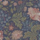 Sandberg Ava Autumn Dark Blue Wallpaper - Product code: 400-86