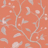 Sandberg Marianne Coral Wallpaper - Product code: 401-34
