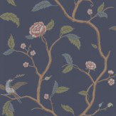 Sandberg Marianne Blue Green / Pink / Blue Wallpaper - Product code: 401-86