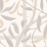 Sandberg Diana Grey Grey / Beige Wallpaper