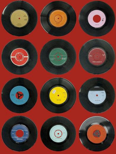 Image of Ella Doran Wallpapers Sevens Red, Sevens Red