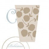 Galerie Coffee Morning  White Wallpaper
