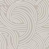 Farrow & Ball Tourbillon  Grey Wallpaper