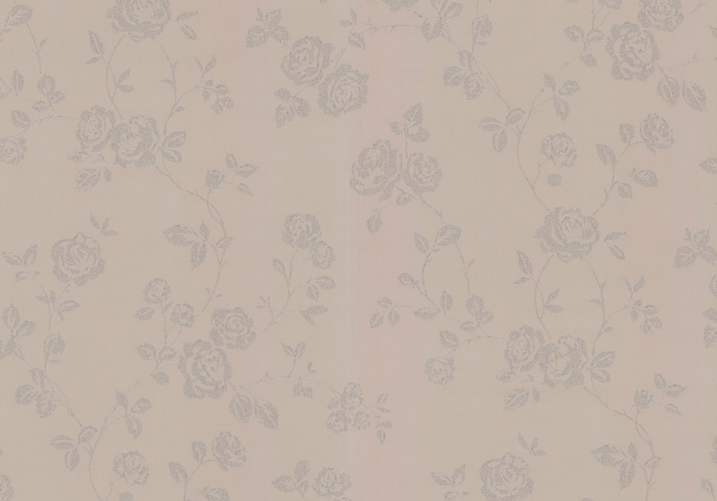 Albany Glitter Roses Taupe Wallpaper - Product code: 40564