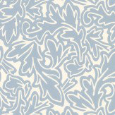 Farrow & Ball Feuille Blue Wallpaper